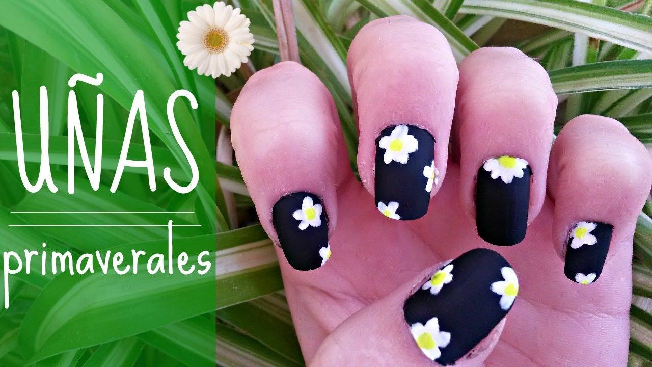 Atractivo Uñas Diy De La Flor Componente - Ideas de Pintar de Uñas ...