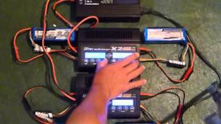 Hi-tec X2-400 Multicharger w/ Progressive RC 500W power supply