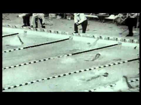 1962 Perth Empire Games. Mens 220 yards Backstroke Final