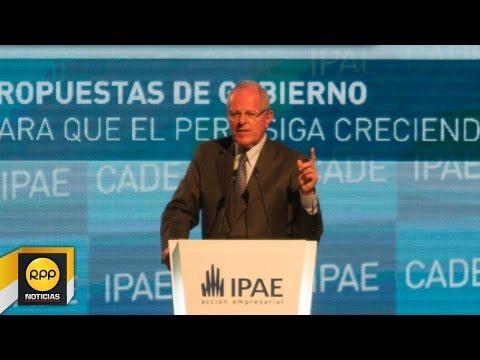 Pedro Pablo Kuczynski expone en la CADE 2015│RPP