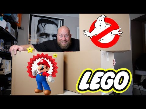 I bought a $1,614 Amazon Customer Returns LEGO & TOYS Pallet + VIDEO GAMES & COLLECTIBLES INSIDE!