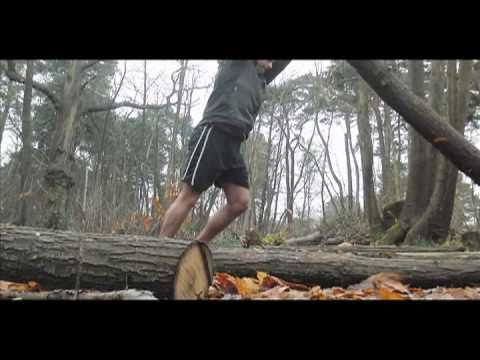 MovNat inspired log balance training for POSE running strength and feeling development