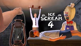 ICE SCREAM 4 Full Gameplay - Android Horror Neighborhood Game