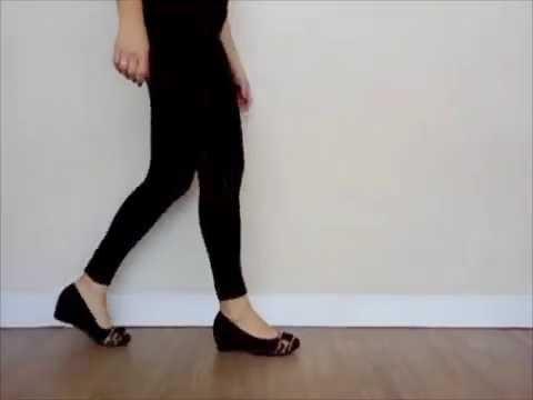 f20a152a43 sapato anabela preto campesi - YouTube