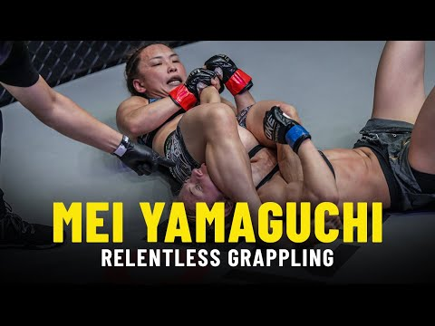 The RELENTLESS Grappling Of Mei Yamaguchi