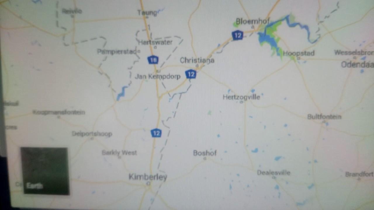 Map Vereeniging Vryburg YouTube