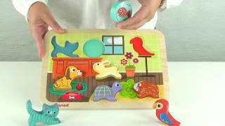 Janod Haustier Puzzle By Www.schoene-spielsachen.de