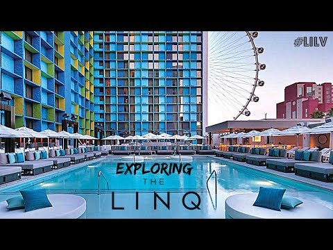 Exploring THE LINQ Las Vegas!