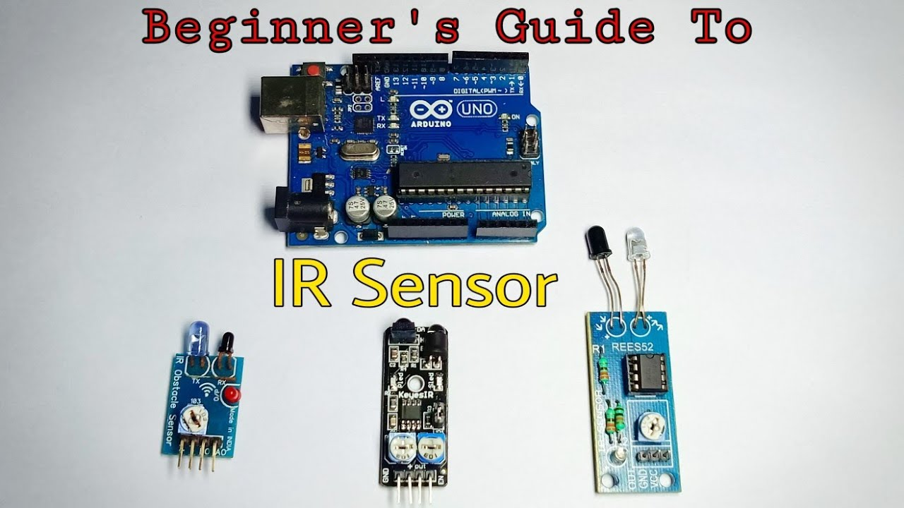 IR Sensor with Arduino tutorial | Beginners guide!