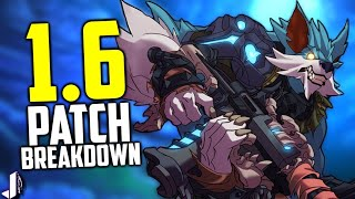 Paladins 1.6 Patch Breakdown! New PVE Event, Abyss Skins & Map!
