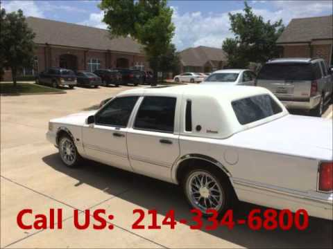 used 1997 lincoln town car for sale 5 000 at frisco tx. Black Bedroom Furniture Sets. Home Design Ideas