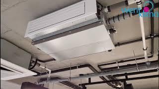 видео Fujitsu ARYG14LLTB/AOYG14LALL Канальные узкопрофильные