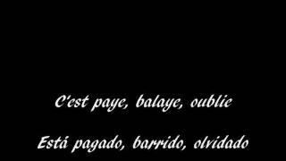 Download Edith Piaf Rien de rien subtitulos frances español