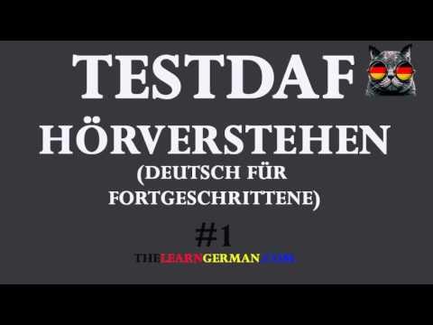 testdaf prfung hrverstehen 1 - Dsh Prfung Muster