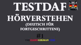 TestDaF Prüfung Hörverstehen #1