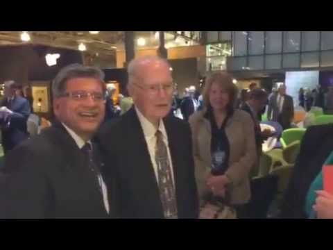 Intel Founder Gordon Moore at Exploratorium