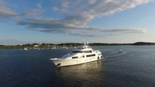 Dolphin Marina and Restaurant in Harpswell, Maine
