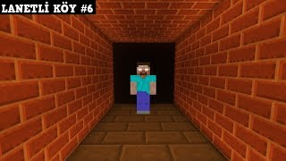LANETLİ KÖY #6 - İlker Katili Öğreniyor (Minecraft)