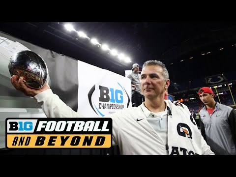 Urban Meyer Talks B1G Championship Win | Ohio State | Big Ten Football
