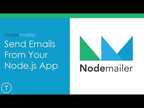 Nodemailer - Send Emails From Your Node js App - YouTube
