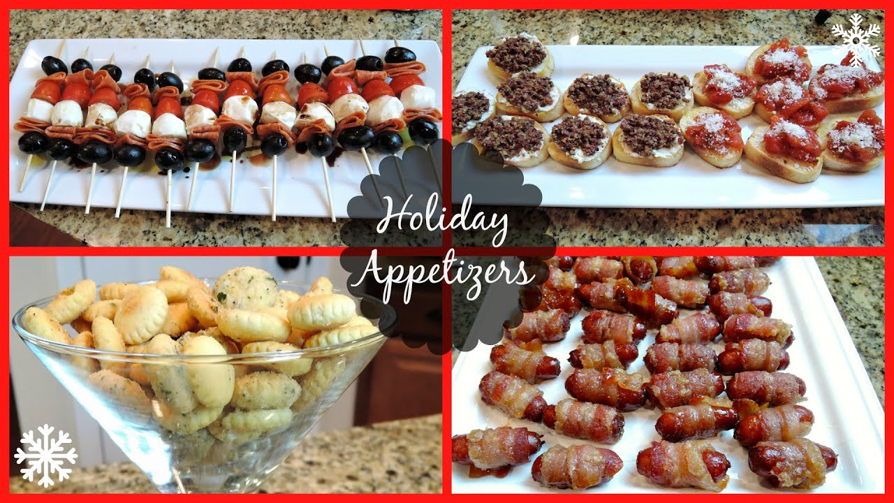 Christmas Party Hors D Oeuvres Ideas Part - 23: HOLIDAY PARTY APPETIZERS! - YouTube
