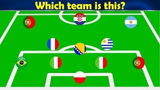 Which team is this? ⚽ Football Quiz 2019