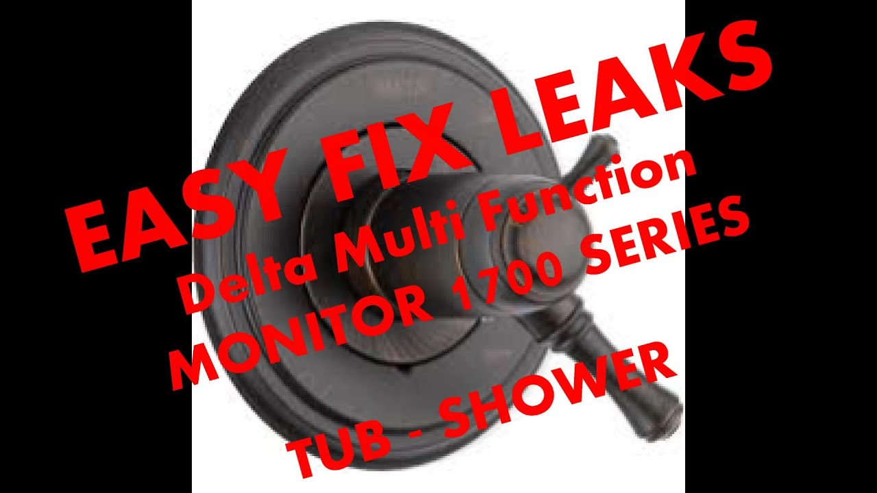 Fix Leaking Delta Monitor 1700 tub - shower part # RP46463 - YouTube