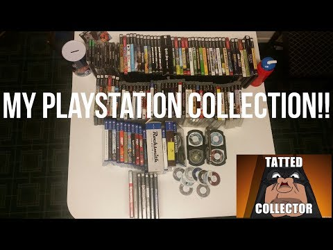 My Playstation Collection After 4 Months of Collecting!!