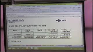 AUDIENCIA PÚBLICA SAÚDE 2ª QUAD  2018