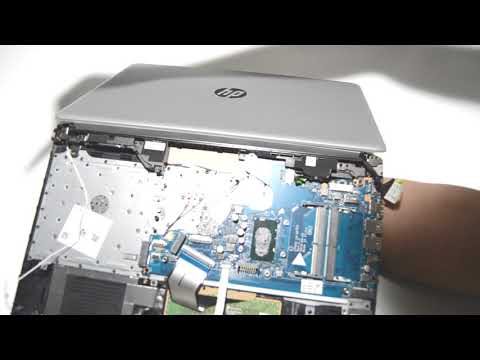 How to Disassemble HP 15 da0053wm Laptop