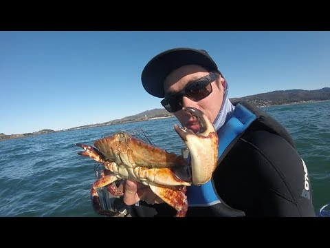 Crabbing On The California Coast