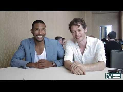 Charles Michael Davis & Joseph Morgan Interview - THE ORIGINALS SEASON 4
