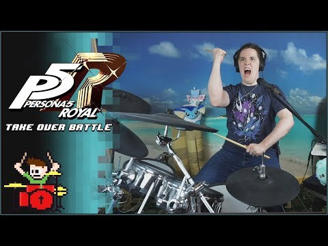 Persona 5 Royal – Take Over Battle Theme On Drums!