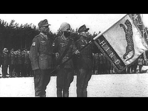 La Légion de l'Inde libre, les soldats indiens d'Hitler