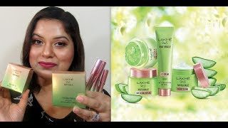 REVIEW & SWATCHES OF ENTIRE LAKME 9 TO 5 NATURALE RANGE