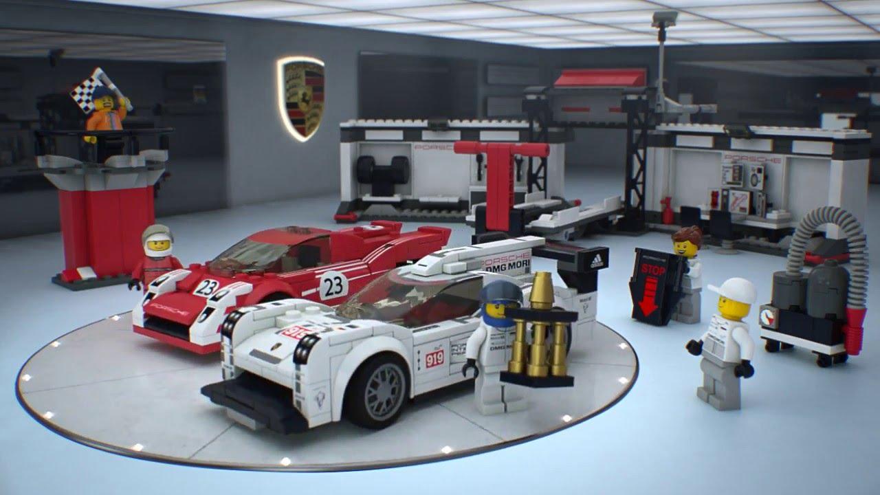 75876 porsche 919 hybrid and 917k pit lane lego speed. Black Bedroom Furniture Sets. Home Design Ideas