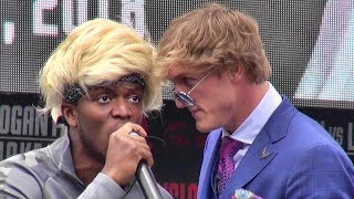 Logan Paul vs. KSI FULL INSANE PRESS CONFERENCE