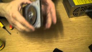 Точилка для ножей из старого HDD диска