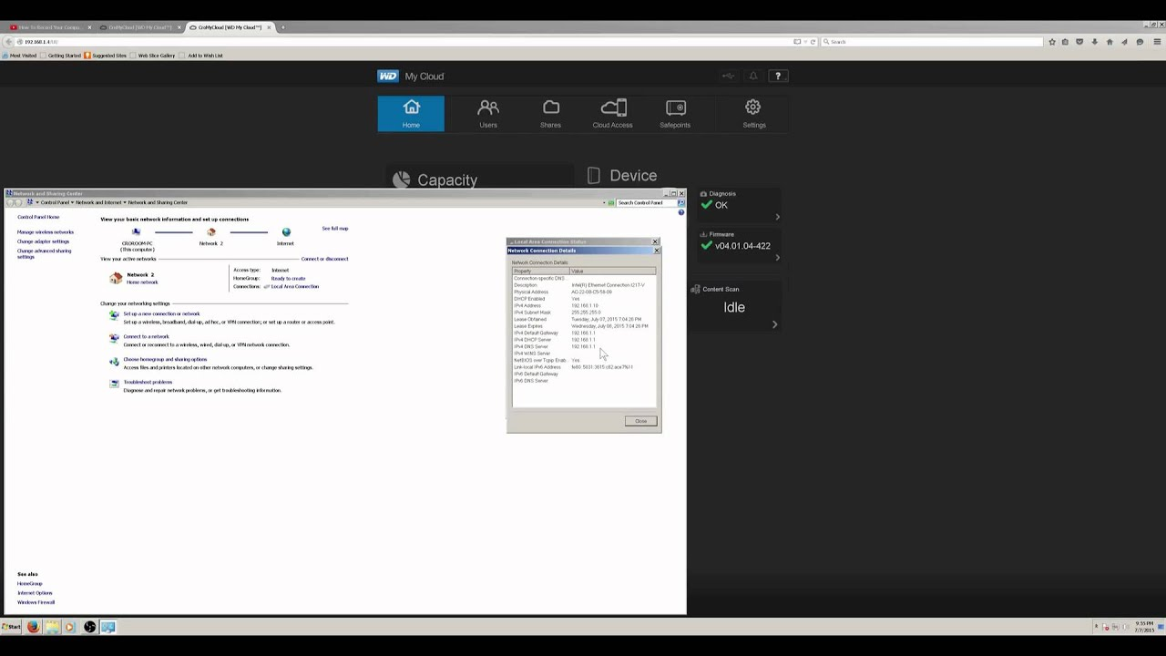 mapping WD My Cloud HardDrive