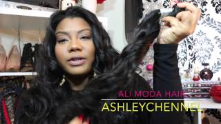 Ali Moda Malaysian Loose Wave Unboxing First impression Aliexpress