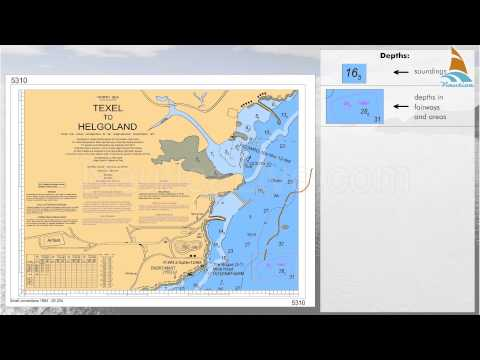 17   reading  the nautical charts depths and dangers