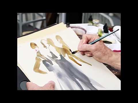 BillDonovan Dior Watercolor