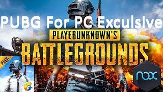 PUBG Android Game On PC Explicit - By Behind Facts