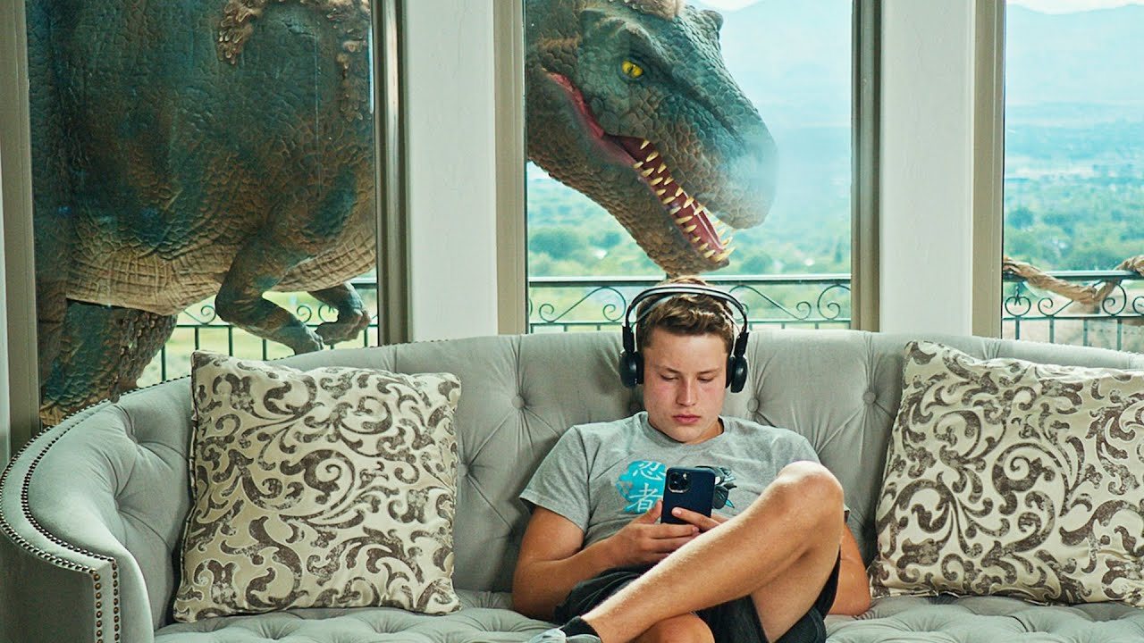Download Dinosaurs Take Over Our HOUSE!