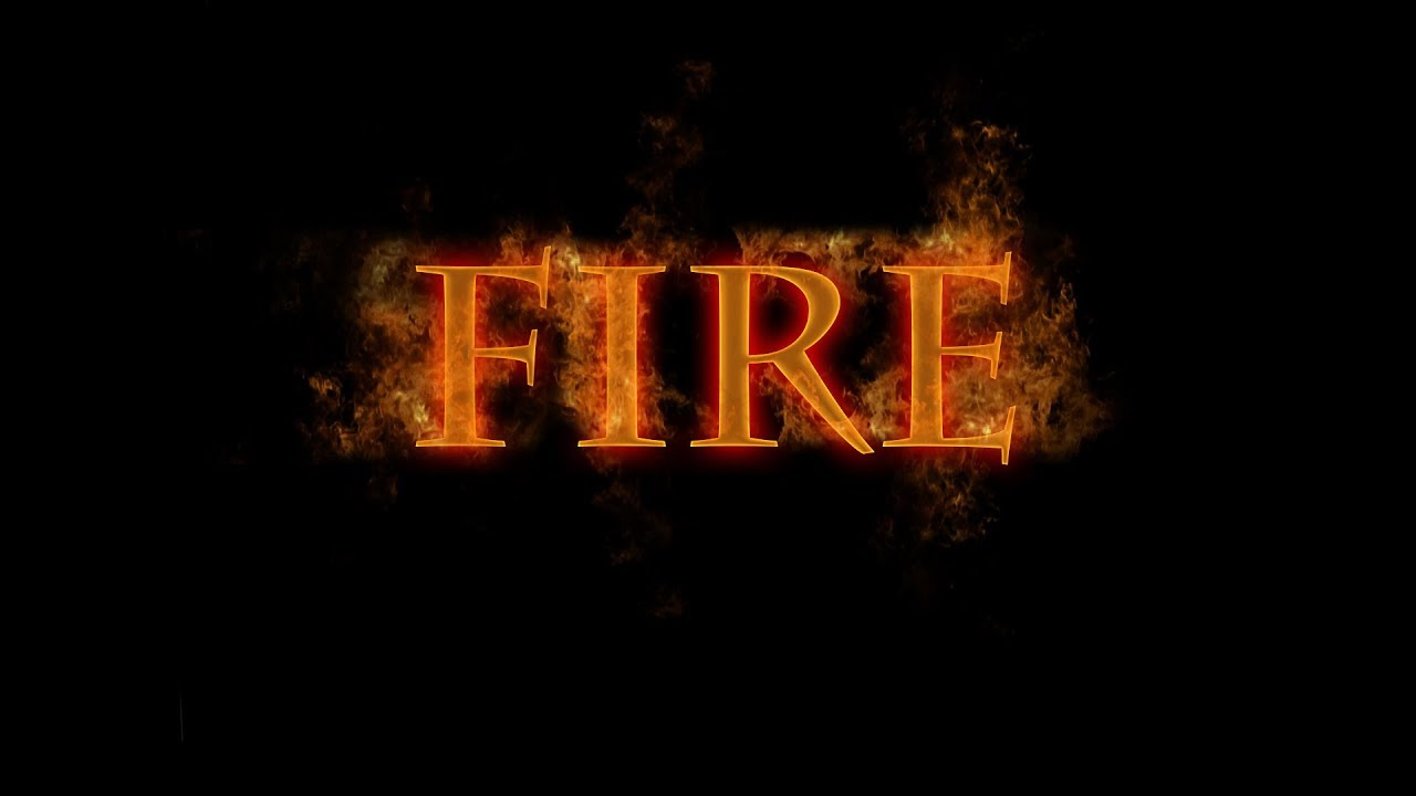 Photoshop Editing: How To Make Fire Text 3D Effect In Photoshop CS6