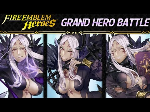 Fire Emblem Heroes - Grand Hero Battle: Aversa INFERNAL+Lunatic F2P Friendly Guide