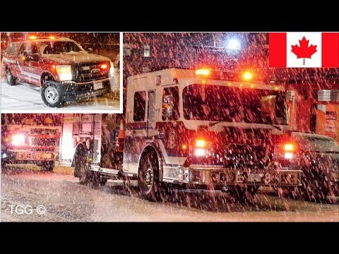 *SNOW RESPONSES* Vancouver Fire & Rescue Services (Collection) + On Scene