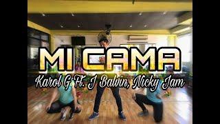 Mi Cama Remix KAROL G FT. J BALVIN, NICKY JAM COREOGRAFA SOMOS FITNESS.mp3