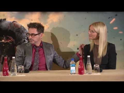 Iron Man 3 - Press conference