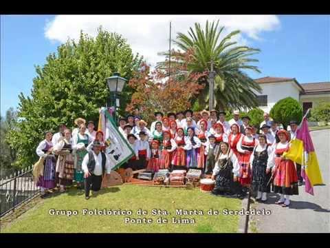 Grupo Folclorico de Santa Marta de Serdedelo - Ponte de Lima (Emissão Cantinho do Folclore)